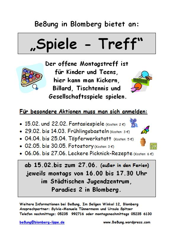 Spiele-Treff